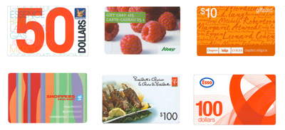 All FundScrip gift cards come from the retailers themselves and can be used just like cash